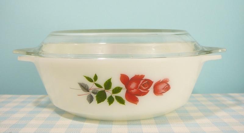 JAJ England June Rose - ovenschaal 20 cm