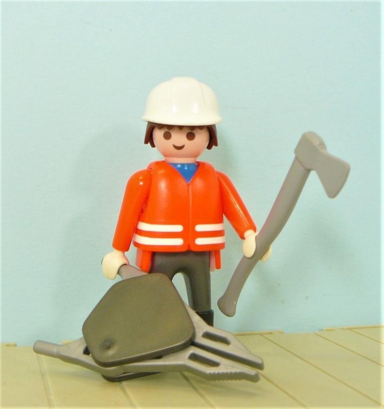 Playmobil brandweerman figuur -  Brandweer