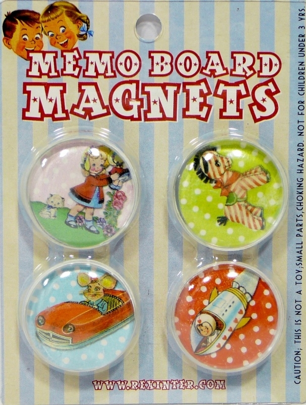 Memo Board Magnets - Magneetjes