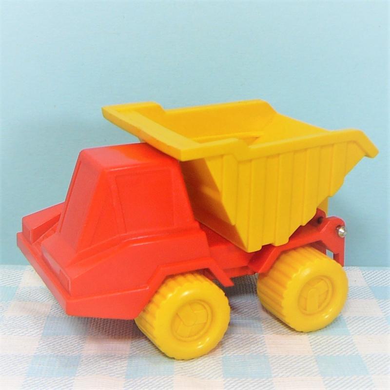 Kiepauto vinyl geel - rood