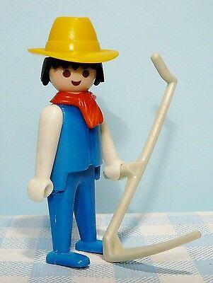 Vintage Playmobil boerderij / western figuur - boer