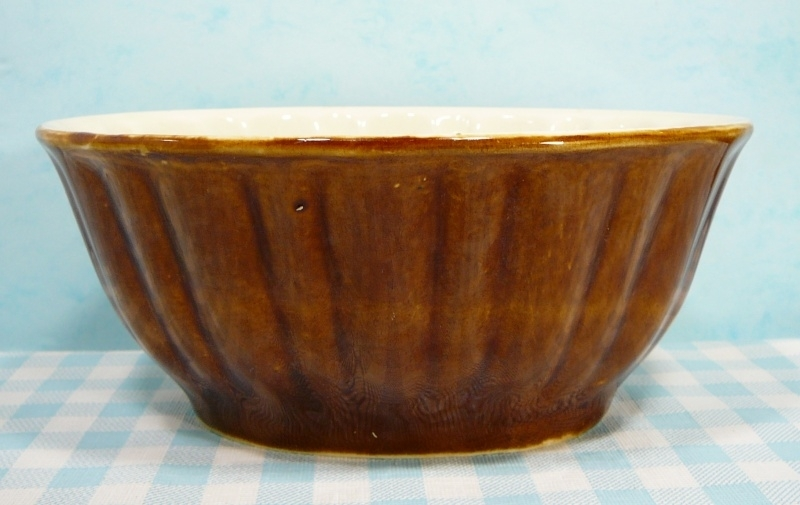 Oude aardewerk puddingvorm