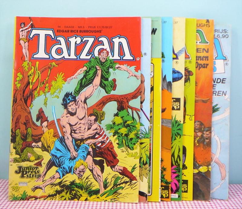 Tarzan Edgar Rice Burroughs - set vintage comics