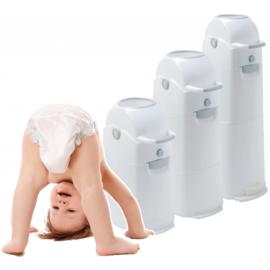 Diaper champ luieremmer meduim voor 50 luiers