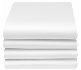 Laken ledikant wit IDS. 100x150  2 stuks