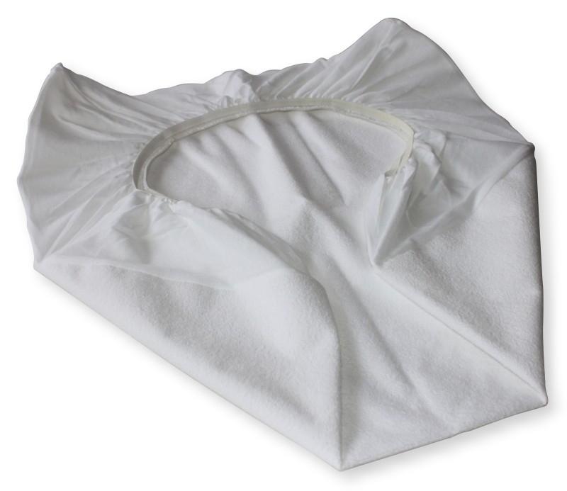 Molton Hoeslaken  ledikant 60x120 waterdicht plus luchtdoorlatend. 2 stuks
