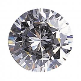 Transparante Cubic Zirconia 2 mm rond