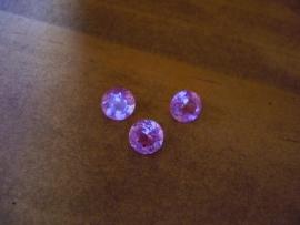 Lite Pink Korund 6 mm rond