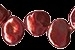 Zoetwaterparel Keishi Garnet +- 6 mm - 2062906242