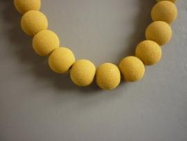 Lava pigment parel okergeel 8 mm (ZA10814et)