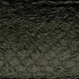 Fish Leather  glanzend zwart +- 23 x 6,5 cm (FSGH-BK)