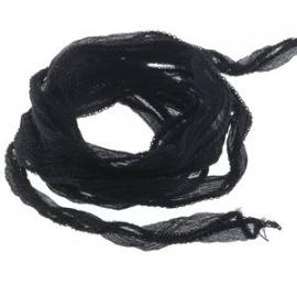 delint zwart - 10 mm breed