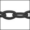 Polyester ketting Kleur zwart Poly 05-TH