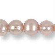 Zoetwaterparel roze 4 mm - rond premium kwaliteit