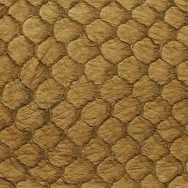 Fish Leather  Suède kastanje bruin - 23 x 6,5 cm (FSHM-CH)