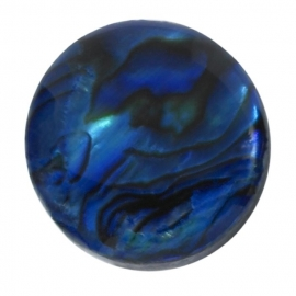 Blauwe Paua Shell 10 mm