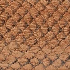 Fish Leather  glanzend beige - 23 x 6,5 cm (FSGH-BE)