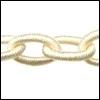 Polyester ketting Kleur Cream PLY55-TH