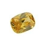 Cubic Zirconia Yellow Diamond - barrel 11 x 15 mm - CZF-667