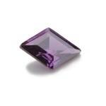 Cubic Zirconia Amethyst: Diamond 9 x 13mm Art: CZF-115