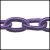 Polyester ketting Kleur Purple POLY40-TH