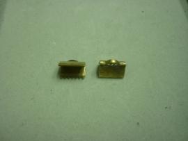 Brons platte klem 10 mm