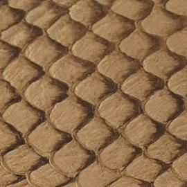 Fish Leather  glanzend naturel - 23 x 6,5 cm (FSGH-NA)