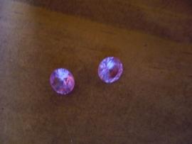 Lite Pink Korund 8 mm rond