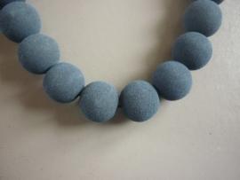 Lava pigment parel donkerblauw 12 mm (ZA11209et)