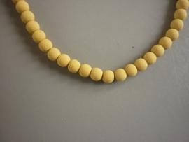 Lava pigment parel okergeel 4 mm (ZA10414et)