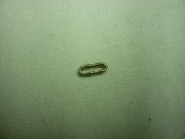 Brons lederhouder 10 mm