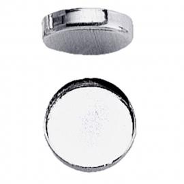 Zetkast fine silver 6 mm