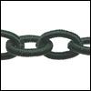 Polyester ketting - Kleur Emerald groen Poly03-TH