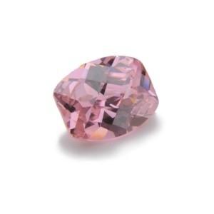 Cubic Zirconia Pink Sapphire: Barrel 8x 10mm Art: CZF-509