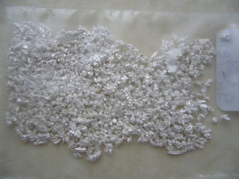 Zilvergruis grof - 5 gr.