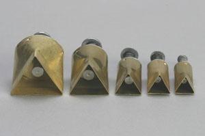 Kemper Kleiuitsteker driehoek (set van 5 stuks)