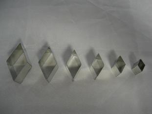Diamant kleiuitstekers - set van 6 stuks
