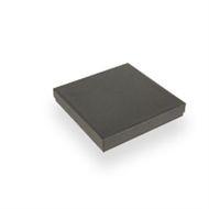 Collierdoosje 163 x 163 x 26 mm zwart