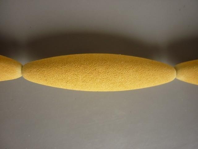 Lava pigment parel okergeel 5 cm (ZA88614et )