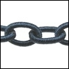 Polyester ketting Kleur Marine blauw Poly19-TH