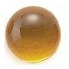 Amber rond 12 mm