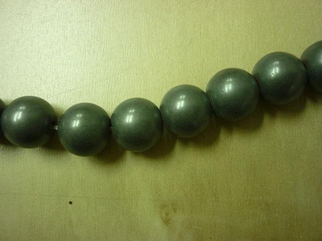 Hematite mat rond 8 mm -7000M
