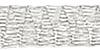 Italian turbulan Metal ribbon 6 mm breedte - zilver 1 m lengte (MR06SILM)