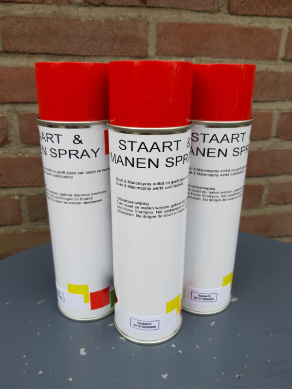 3x PIMPEX RESULT staart & manen spray