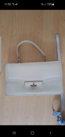 Vintage Handbag Offwhite.