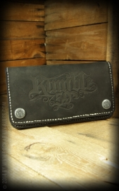 Rumble 59, Leather Wallet in Brown.