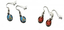 Pinup Earrings.