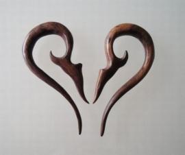 Stretcher Wooden Hook Large 6 mm.