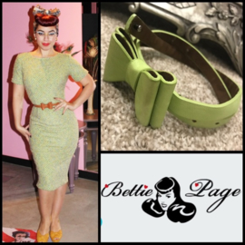 Tatyana Clothing, Big Bow Belt.