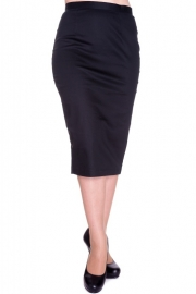 Hell Bunny, Frankie Skirt in Black in xsmall.